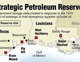 Mỹ 4 lần dùng đến kho dự trữ dầu chiến lược