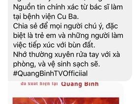"""Thực hư tin đồn vi khuẩn """"ăn thịt người"""" xuất hiện tại Quảng Bình"""