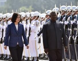 Đài Loan cắt quan hệ với quốc đảo Thái Bình Dương ngả về Trung Quốc