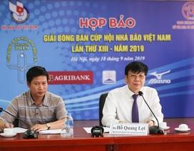 Gần 200 VĐV tranh tài ở giải bóng bàn cúp Hội nhà báo Việt Nam