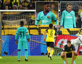 Reus đá hỏng phạt đền, Barcelona may mắn cầm hòa Dortmund