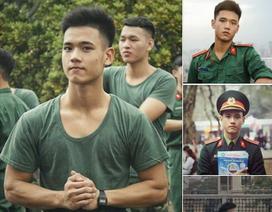 Nam sinh trường quân sự đẹp trai, nhiều tài lẻ