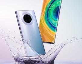 """Lộ ảnh chính thức Huawei Mate 30: Có 4 phiên bản, sở hữu màn hình """"thác nước"""""""
