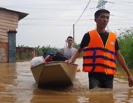 Đồng Nai: Nhiều nơi ngập sâu, một người bị nước lũ cuốn tử vong