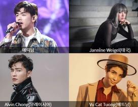 Vũ Cát Tường 2 lần liên tiếp tham gia Asia Song Festival