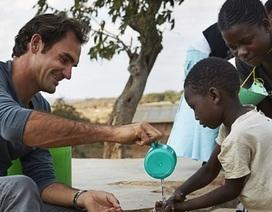 Không chỉ là tay vợt vĩ đại, Roger Federer còn là nhà từ thiện nổi tiếng