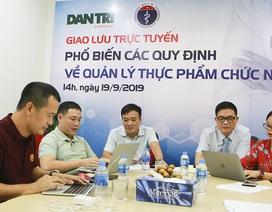 Giao lưu trực tuyến: Bộ Y tế trả lời các vấn đề xoay quanh quản lý thực phẩm chức năng