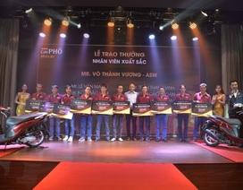 MacCoffee - Café Phố thưởng nóng 211 chiếc xe máy dành cho nhân viên xuất sắc nhất