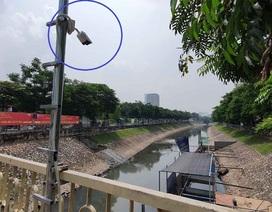 Lắp camera, bố trí người bảo vệ đàn cá Koi Nhật Bản ở sông Tô Lịch