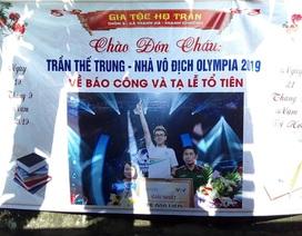 Quán quân Đường lên đỉnh Olympia về quê tạ lễ trong niềm hạnh phúc