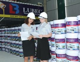 """Thị trường sơn """"đắt khách"""" mùa mưa, thương hiệu sơn Việt Lubec được ưa chuộng"""