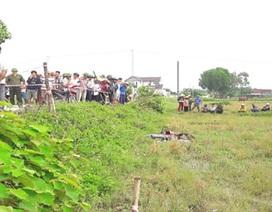 Người đàn ông tử vong dưới ruộng lúa, cạnh chiếc xe máy
