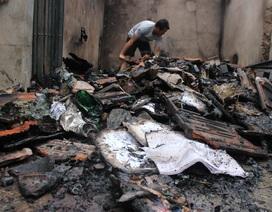 Nghi nổ trạm biến áp, hàng loạt tài sản bị cháy trong đêm