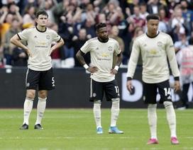 Nhìn lại màn trình diễn bạc nhược của Man Utd trên sân West Ham