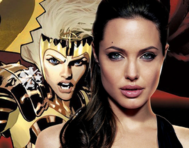 Angelina Jolie từ tóc nâu chuyển sang... tóc vàng