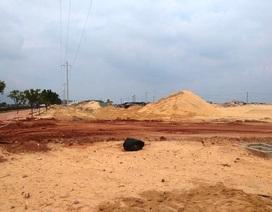 Dừng việc rao bán, nhận cọc nhận đất nền phân khu 2 dự án Nhơn Hội New City