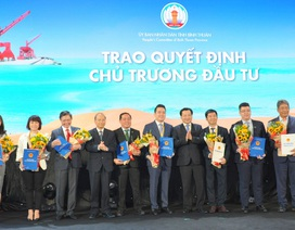 Nam Group được tỉnh Bình Thuận trao quyết định chủ trương đầu tư cho dự án Thanh Long Bay