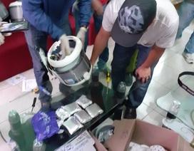 Giấu hàng ngàn viên ma túy trong nồi cơm điện