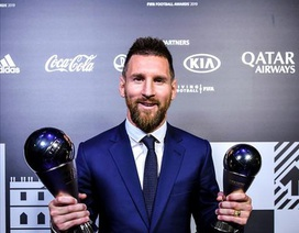 C.Ronaldo và Messi nói gì sau lễ trao giải FIFA The Best?
