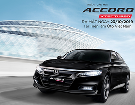 Honda Accord thế hệ thứ 10 tại Việt Nam sẽ dùng động cơ 1.5L Turbo