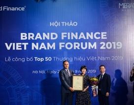 Được định giá hơn 4,3 tỷ USD, Viettel  liên tiếp hai năm dẫn đầu Top 10 thương hiệu giá trị nhất Việt Nam