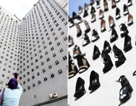 """Bí mật đằng sau vẻ đẹp của """"bức tường giày"""" ở Thổ Nhĩ Kỳ"""