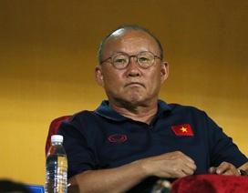 HLV Park Hang Seo thở phào khi không phải đụng độ U23 Hàn Quốc