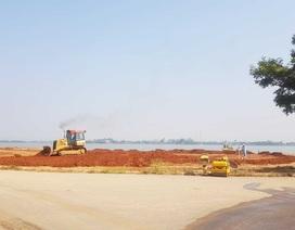 """Doanh nghiệp """"hô biến"""" 6,8ha đất hồ thủy lợi thành đất xây sân golf"""