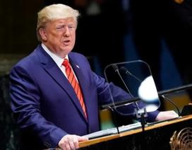 Ông Trump công khai chỉ trích Trung Quốc tại Liên Hợp Quốc