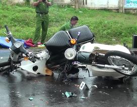 Đâm vào xe máy do học sinh cầm lái, một phụ nữ tử vong