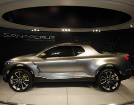 Bất ngờ lớn: Mẫu bán tải Santa Cruz của Hyundai sẽ dùng khung gầm rời