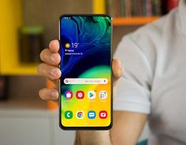Samsung lộ màn hình giọt nước kiểu mới cho smartphone