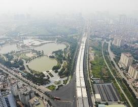 Hà Nội: Đại công trường đường trên cao hơn 5.000 tỉ đồng giờ ra sao?