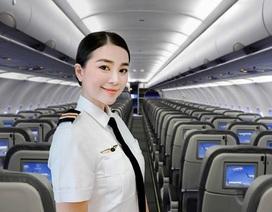 """""""Nữ cơ trưởng đẹp nhất Việt Nam"""" giờ tăng 10 kg, mũm mĩm càng đẹp"""