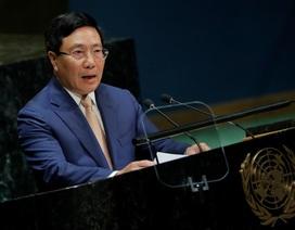 Phó Thủ tướng Phạm Bình Minh nêu vấn đề Biển Đông tại Liên Hợp Quốc