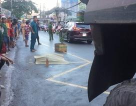 Kinh hoàng giây phút thiếu nữ bị xe ben chạy giờ cấm gây tử vong