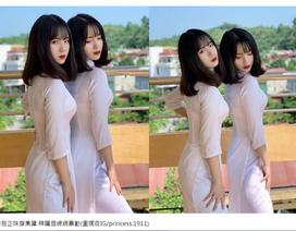 Chị em song sinh Yên Bái được truyền thông Trung Quốc hết lời khen ngợi