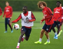 Arsenal tập luyện miệt mài trước đại chiến với Man Utd