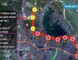 """Hà Nội tăng vốn """"khủng"""" cho Dự án đường sắt Nam Thăng Long - Trần Hưng Đạo"""