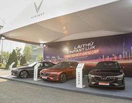 Hàng nghìn lượt khách phấn khích lái thử xe VinFast Lux tại Hà Nội