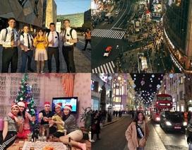 Du học sinh Việt trên khắp thế giới hòa mình vào không khí chào năm mới