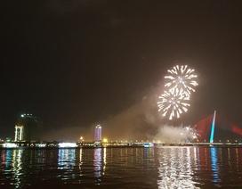 Đã Nẵng bắn pháo hoa kỷ niệm 22 năm ngày thành lập