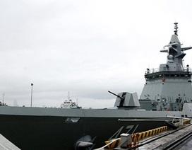 Tàu Hải quân Thái Lan cập cảng Đà Nẵng