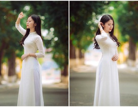 Thiếu nữ xứ Thanh đẹp dịu dàng trong bộ ảnh kỷ yếu