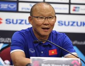 """HLV Park Hang Seo: """"Đội tuyển Việt Nam sẽ bung hết sức trước Iran"""""""