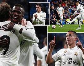 Ramos đạt cột mốc 100 bàn, Real Madrid dễ dàng đè bẹp Leganes