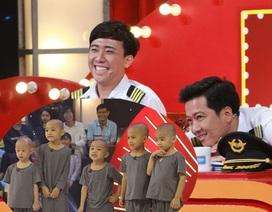 """5 chú tiểu nhóm Bồng Lai """"tái xuất"""" khiến Trường Giang, Trấn Thành """"bấn loạn"""""""