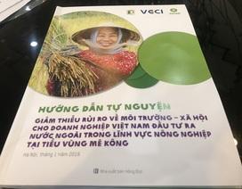 Đầu tư nông nghiệp sang Lào, Campuchia còn tiềm ẩn nhiều rủi ro