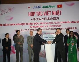 Trẻ em Việt Nam có cơ hội sử dụng sản phẩm dinh dưỡng hàng đầu Nhật Bản
