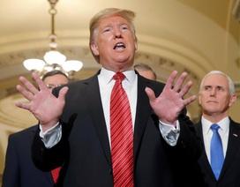 Ông Trump tức tối bỏ họp vì không đạt thỏa thuận về tường biên giới